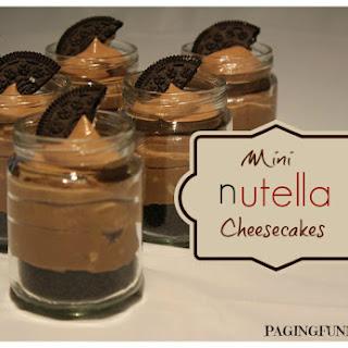Mini Nutella Cheesecakes Recipe