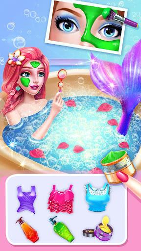 🧜♀️👸Mermaid Makeup Salon screenshot 4