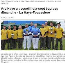 Photo: Ouest France du 14 Juin 2011