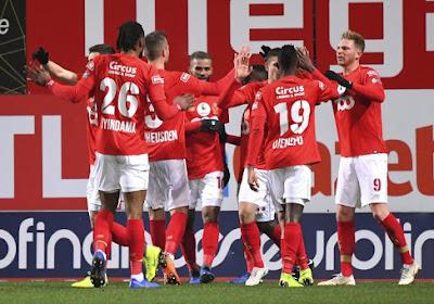 Charleroi termine 2018 comme il l'a commencé, le Standard à deux points du podium