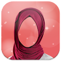 Hijab Woman Photo Making icon