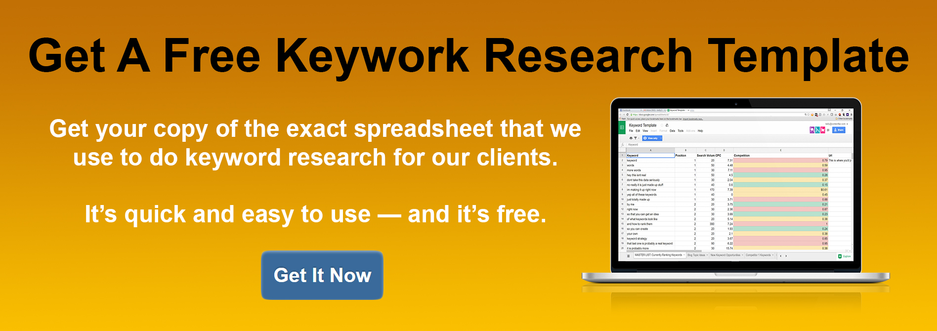 The Best Keyword Research Tool for SEO is a Simple Google Spreadsheet [With Template!]