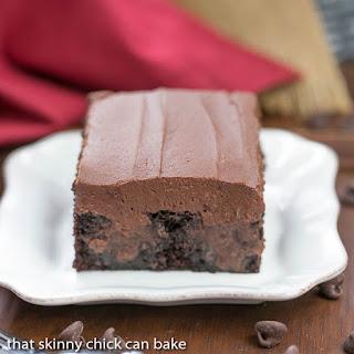 Triple Chocolate Poke Cake.