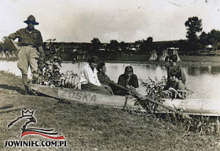 Photo: Łoszniów 1924 r. (Ze zbiorów H. Pużak-Ciszkowiczowej, dar Janiny Hofmokl, Bytom 1987 r.).