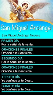 San Miguel Arcángel Novena - náhled