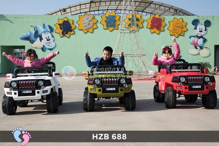Xe ô tô điện cho bé Jeep HZB-688 2
