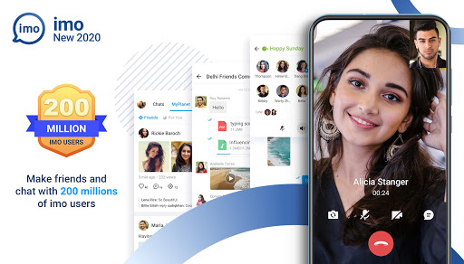 imo free video calls and chat screenshot 1