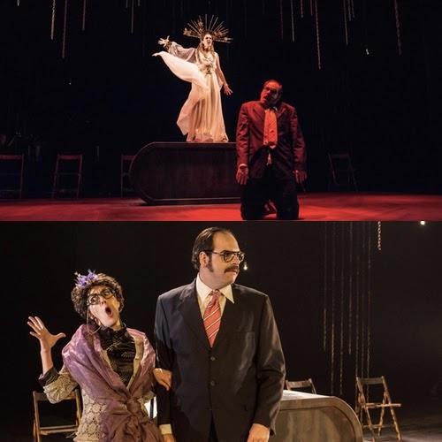 Jorge Usón y Carmen Barrantes