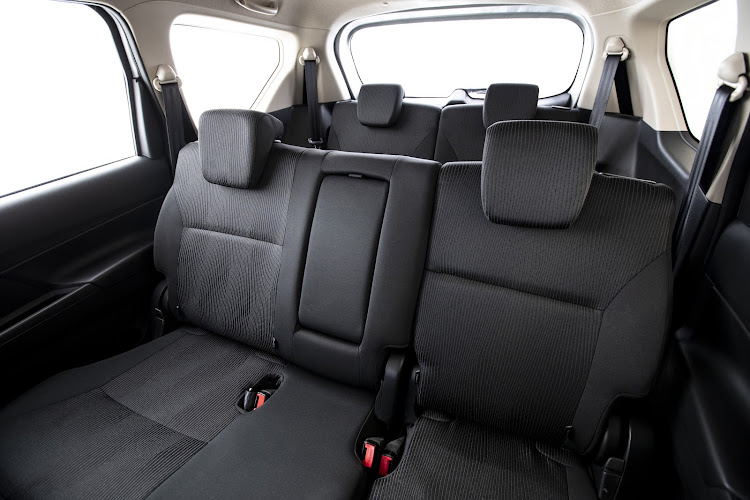 The seven-seat interior is roomier. All occupants gain additional shoulder room while those in the third row get an extra 15mm of shoulder space and 70mm of leg space. Image: SUPPLIED