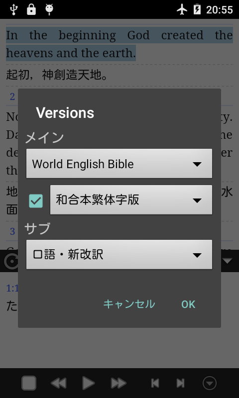 Dokodemo Bible- screenshot