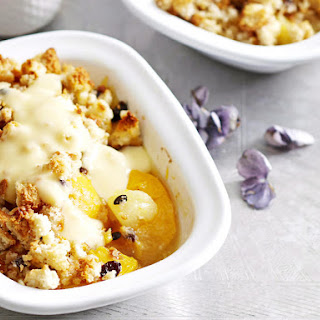 Easy Sunshine Crumble.