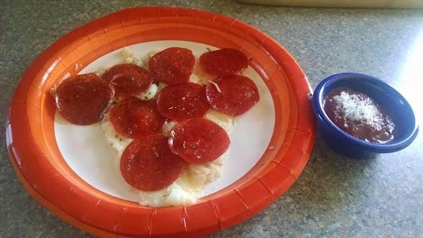 No Crust Pepperoni Pizza Recipe