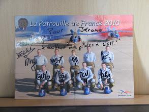 Photo: Carte que ma chérie a fait dédicacée à la PAF 2010