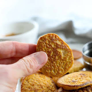 2-ingredient Sweet Potato Cakes {gluten-free, Dairy-free, Nut-free}.
