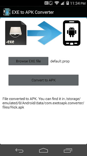 exe to pdf converter apk