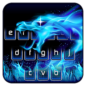 Flame Dragon Keyboard Theme