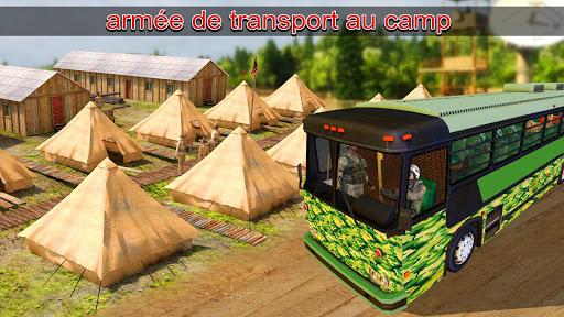 Télécharger Armée Chauffeur Militaire Soldat transport Devoir APK MOD (Astuce) screenshots 5