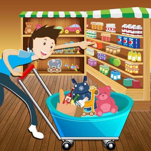 Supermarket Shopping Sim FREE 教育 App LOGO-APP開箱王