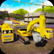 House Building Simulator: try construction trucks!