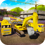 House Building Simulator: try construction trucks! Icon
