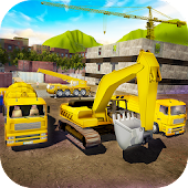 House Building Simulator: try construction trucks!