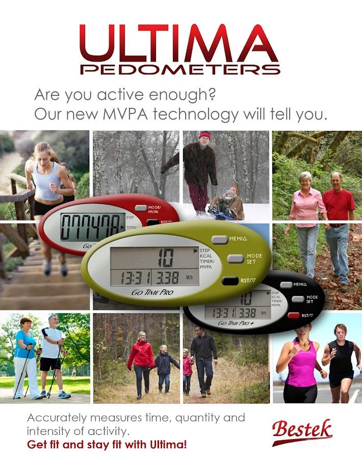 UT-608 MVPA G Sensor Pedometer