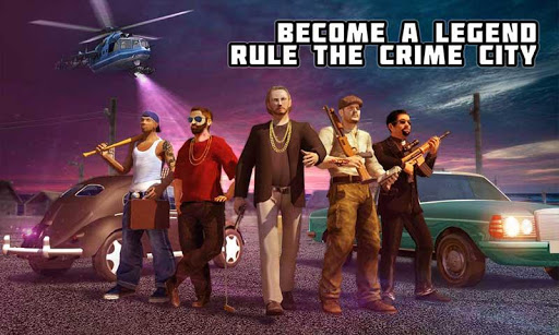 Crime City Mafia Gang War Car Theft Gangster Games screenshots 1