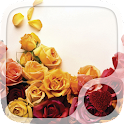 Red roses Hearts Wallpaper icon