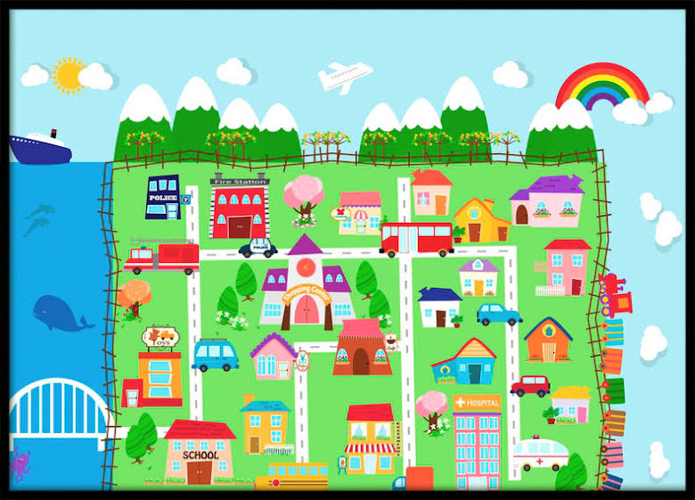 Happytown, Poster
