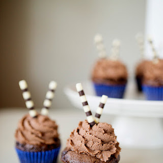 Chocolate Cupcakes with Whipped Milk Chocolate Ganache Recipe