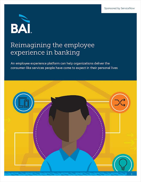 Reimagine the Employee Experience Platform in Financial Industry. Source: ServiceNow