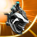 Gravity Rider: Extreme Balance Space Bike Racing icon