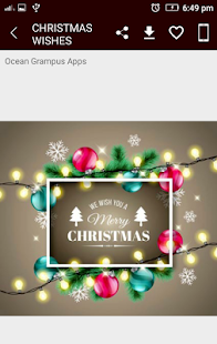 Merry Christmas wish greeting cards wallpaper XMAS - náhled