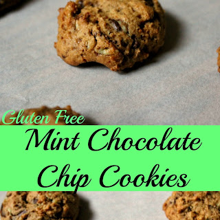 Gluten Free Mint Chocolate Chip Cookies