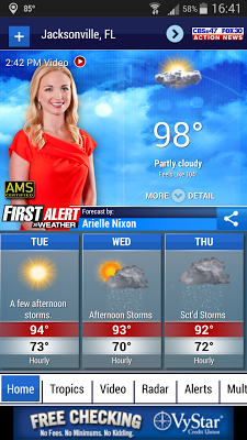 Action News Jax Weather - screenshot