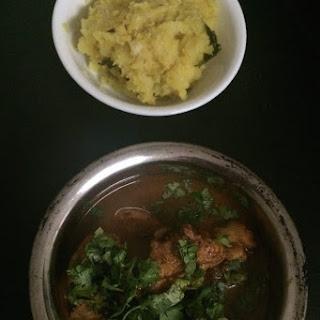Kerala Kappa ( Mashed Tapioca).