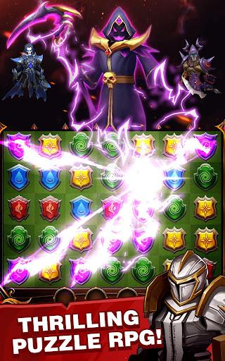 Conqueror & Puzzles : Match 3 RPG Games 1.3.0 Mod screenshots 3