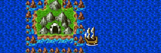 ドラクエ2_海底の洞窟