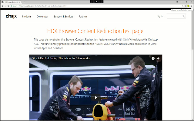 Browser Redirection Extension