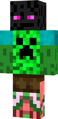 My only skin, made by me.