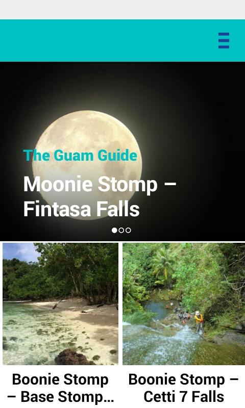 The Guam Guide- screenshot
