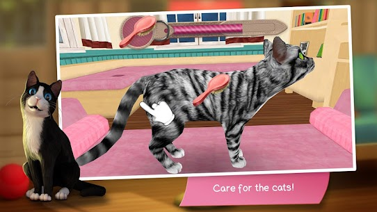 CatHotel – Hotel for cute cats MOD (Unlimited Money) 3