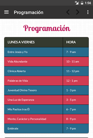 android Ministerio 7Day (App Oficial) Screenshot 11