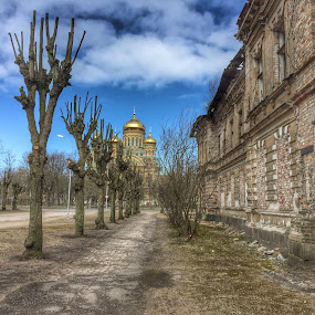 Abandoned city by Astrid Hagland Gjerde - Buildings & Architecture Decaying & Abandoned ( building, russian, church, latvia, karosta )