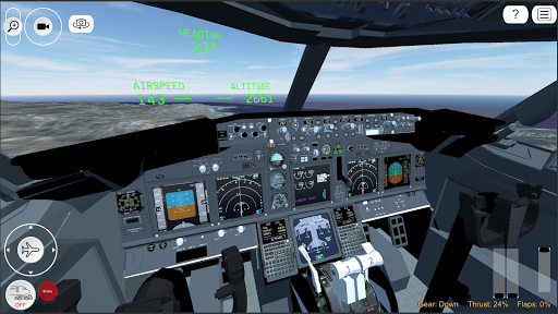 Flight Simulator Advanced  captures d'écran 6