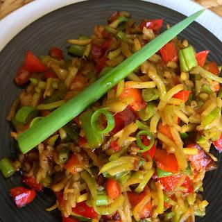 Zucchini Fried Rice (non-cauliflower).