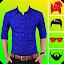 Man Formal Shirt Photo Suit Maker