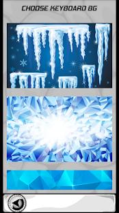 Zmrazené ledové klávesnice - náhled