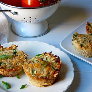 Zucchini, Ham, and Cheese Quinoa Cups