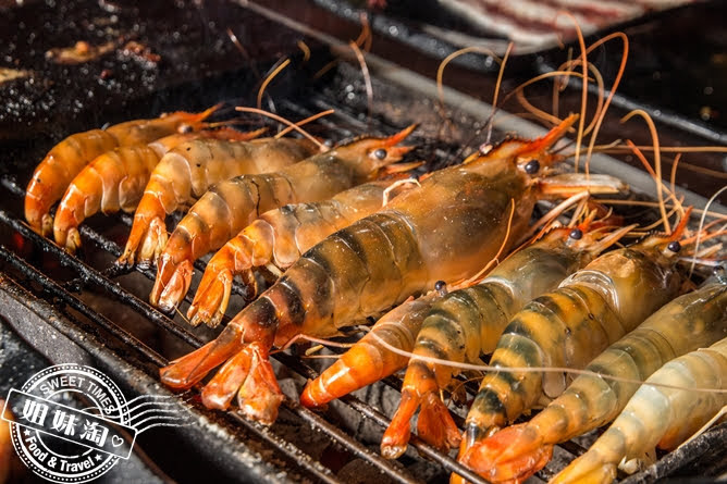 進吉泰國蝦海鮮炭烤吃到飽泰國蝦